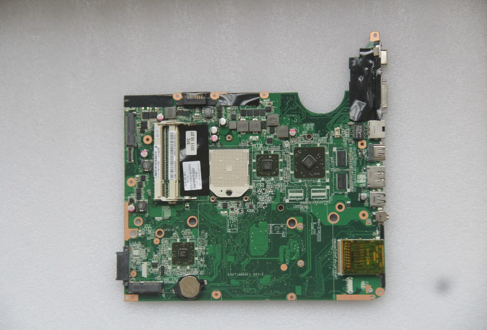 509451-001 For HP Pavilion DV6 DV6-1000 Laptop Motherboard DAUT1AMB6E1 With 216-0728014 GPU Onboard DDR2 Fully Tested