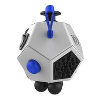 New Kids Adults Decompression Magic Cube 12 Sides Magic Fidget Cube Novelty Toy