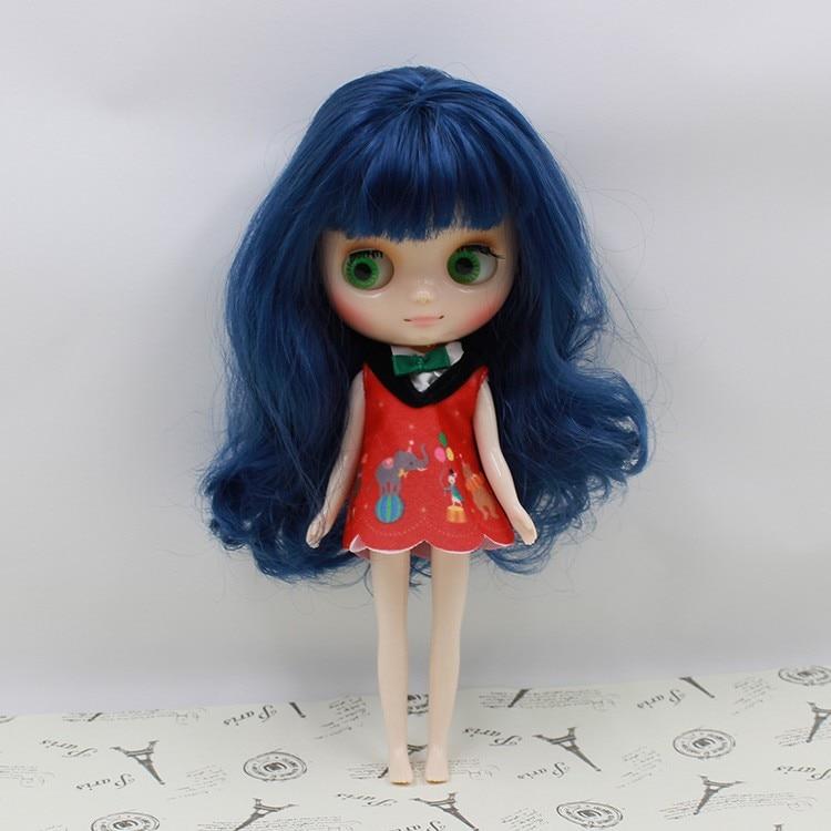 Middie Blythe Doll Multi-Color Hair 20cm 9