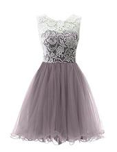 Vestidos De Coctel Elegantes 2017 Prom Party Cocktail Minikleid Homecoming Kleid Kurzen