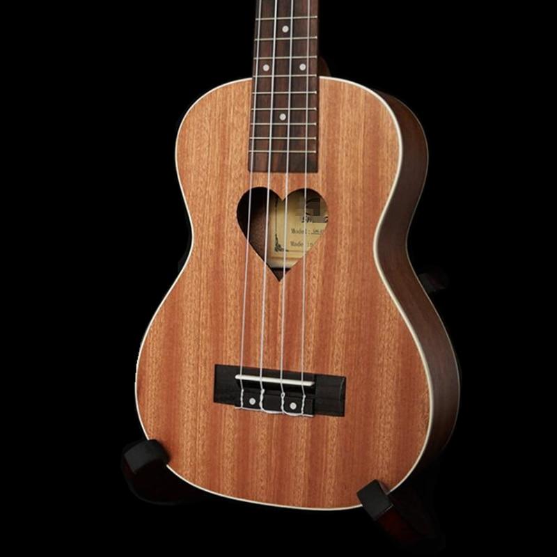 21 inch Rosewood Soprano Ukulele Aquila string Four Strings 15 Fret Hawaiian ukelele Chibson Acoustic guitar Heart pattern