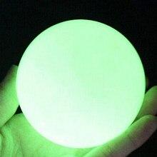 Zarte Glow In Dark Faux Fluorit Kugel Leuchtende Kugel Wohnkultur Ornament
