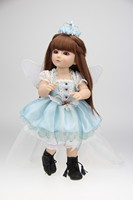 18 Inch Beautiful SD BJD Doll High Quality Handmade Doll Poseable With Joints