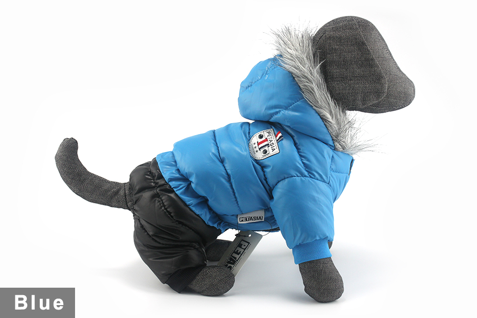 Chaqueta impermeable de invierno para perro 13