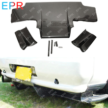 For Nissan Skyline R32 GTS Carbon Fiber Rear Diffuser Tuning GTR Top Secret w/ Metal Fitting Accessories