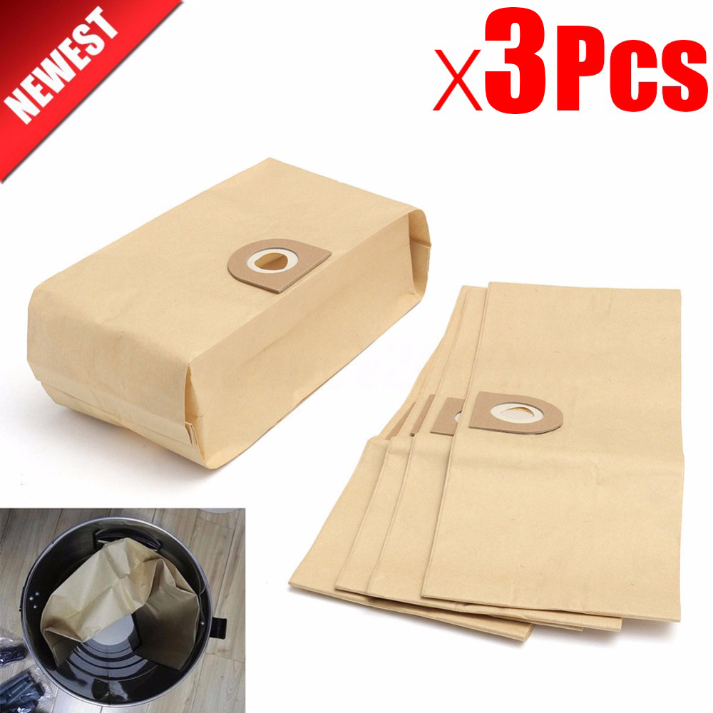 3pcs Of Vacuum Cleaner Parts Dust Filter Bags For VAX V10 V11 V12 V100 101 121 2000 4000 5000 6000 6131 6135 6140 6140 6155