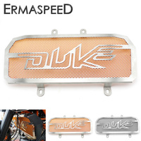 Motorcycle Stainless Steel Radiator Guard Protector Grille Grill Cover Orange Black For KTM Duke 390 2013