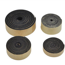 Free Shipping 5 M EVA Black Sponge Foam Tape Window Vent Strong Adhesion Anti-collision Adhesive Seal  Size 3 mm*30 mm цены