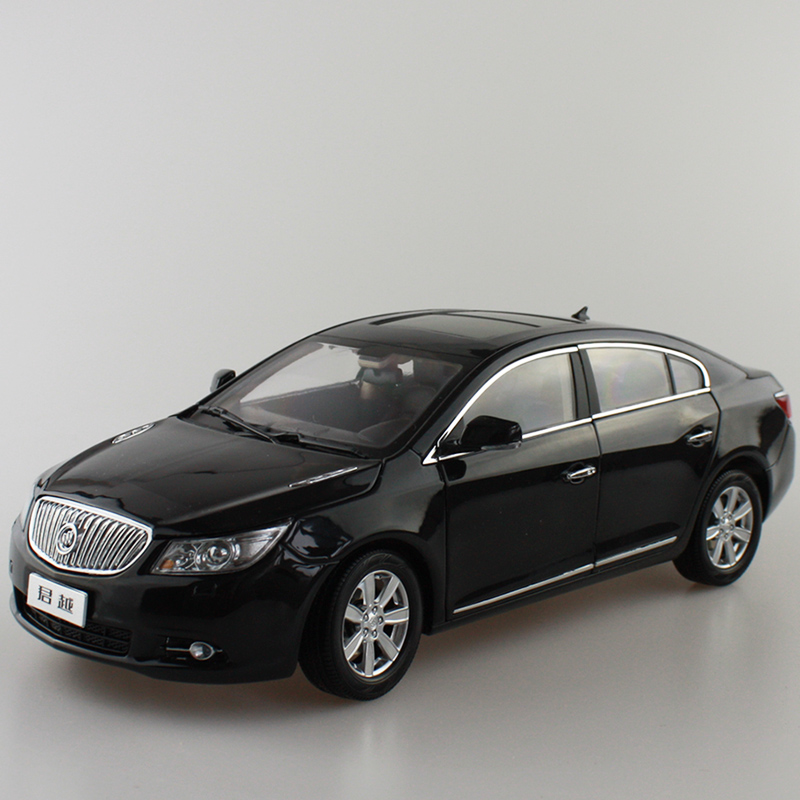 1:18 Diecast Model for GM Buick Lacrosse 2009-2012 Black Sedan Alloy Toy Car Miniature Collection Gifts1:18 Diecast Model for GM Buick Lacrosse 2009-2012 Black Sedan Alloy Toy Car Miniature Collection Gifts