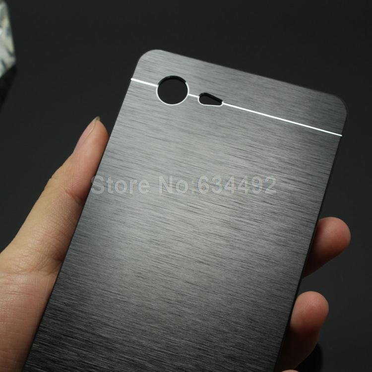 best service 79ade 03c87 US $3.98 |2015 New Luxury Metal Brush Hard Case for SONY XPERIA E3 D2203  D2206 Back Cover Aluminum Back Case Capa Celular on Aliexpress.com |  Alibaba ...