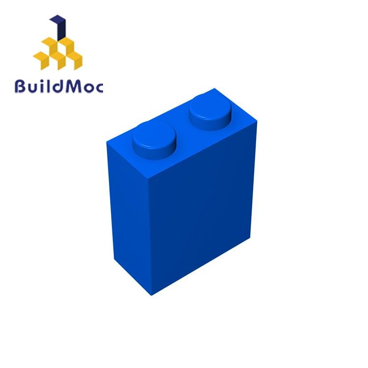BuildMOC, совместимые сборы, частицы 3245, 1x2x2 для строительных блоков, DIY, образовательные высокотехнологичные запасные игрушки с логотипом