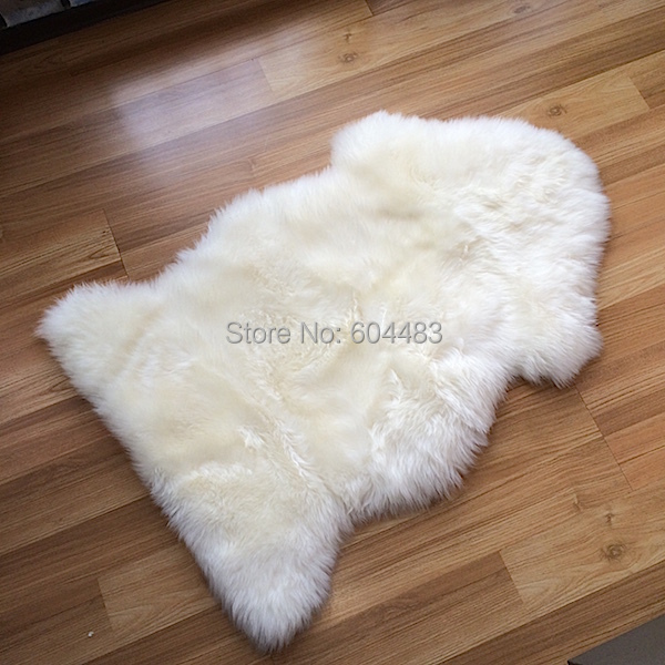 100 New Zealand Sheepskin Rugs 85 55cm One Piece Seat Cover