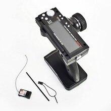 Flysky FS GT3B 2.4G 3CH Radio Modello di Controllo Remoto LCD Trasmettitore e Ricevitore per RC Auto Barca