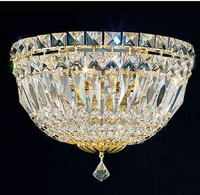 Gold Crystal Wall Lamp Wall Sconce Bedside Living Room Wall Light With Beautiful Clear Crystal Guaranteed