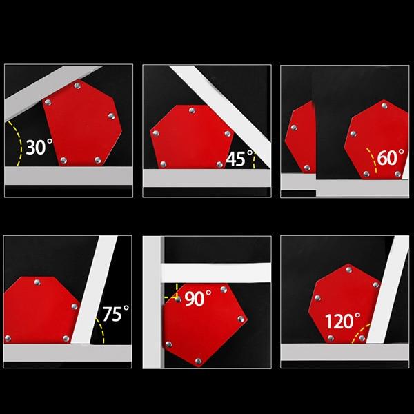 Welding Magnet 100mm 13kg Arrow Magnetic Holders Welding Welding 3 Angles New