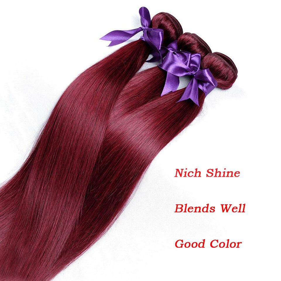 dye hair red