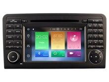 Octa core 2 ГБ Оперативная память Android 6.0.1 dvd-плеер автомобиля для Mercedes Benz ML320/ml350/W164 2005- 2012 GPS Navi Радио стерео 3G штатные