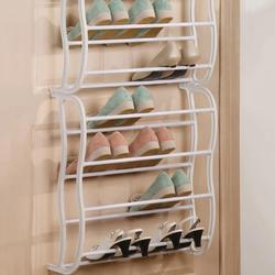 Shoe Racks Storage Organizer DIY Assembled Iron Multiple Layers Shoes Shelf Stand Holder Door Stackable Shoe Rack Save Space