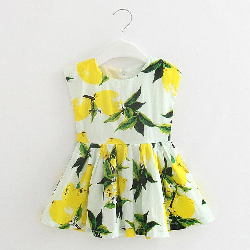 260b3509b ⓪2016 Princess Enfant Girls Dresses Summer Baby girl dresses Flower ...