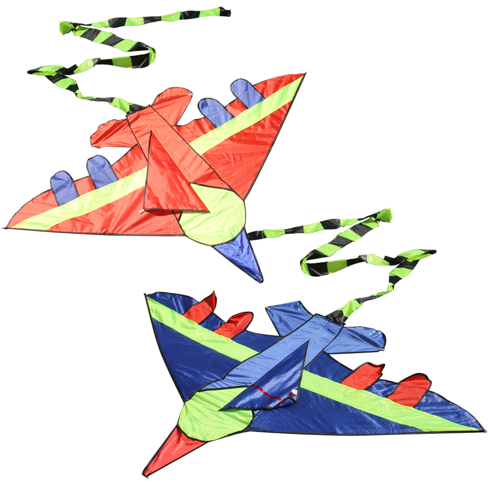 145*100*300cm Cool Giant Fighter Kite Durable Novelty Long