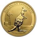 2012 Австралийский кенгуру 1 сувенирная монета. Монета покрытая 1,5 граммов. 999 хорошее золото