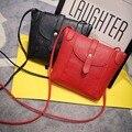 2017 Venda Quente Pequeno Saco Shell Mulheres Messenger Bags Mini Embreagem Bolsa Doce Cor Bolsa De Couro Das Mulheres Saco Das Senhoras Ombro