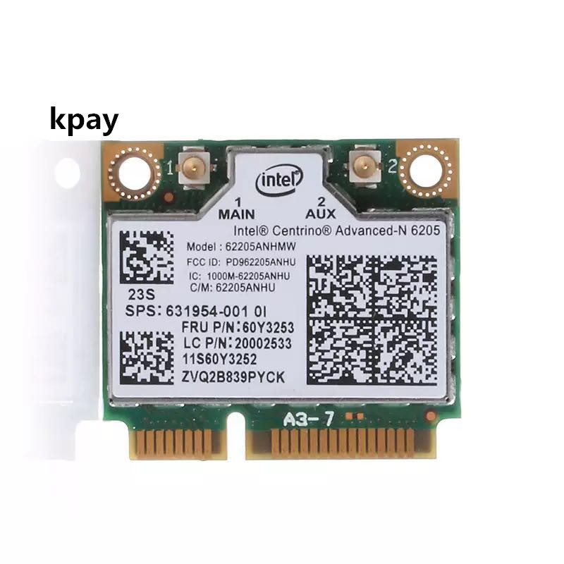 New 300M Dual-band Dual Band Wireless-AC Wlan Wifi Card Networks Card For Lenovo Thinkpad X230 T430 60Y3253
