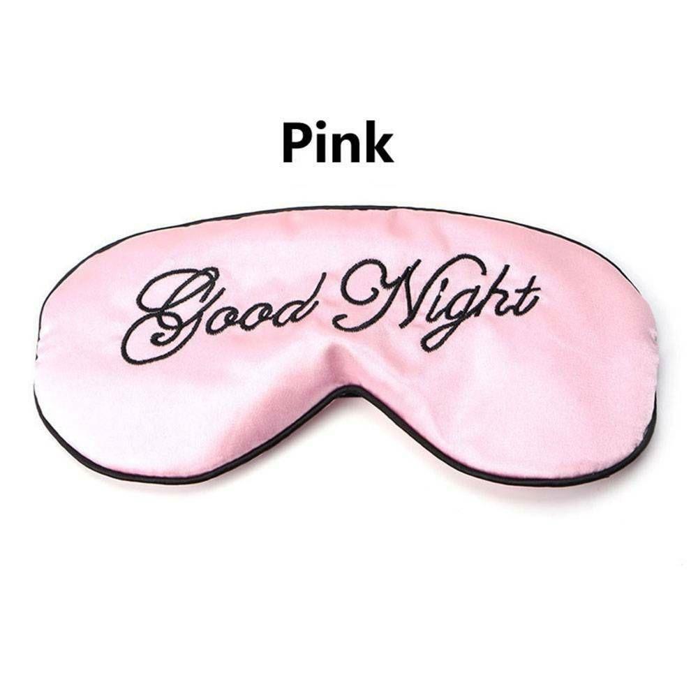 1 шт. мягкая маска для сна Расслабляющая помощь для путешествий с повязкой на глаза мягкая маска для сна тенты инструменты для ухода за глазами - Цвет: Розовый