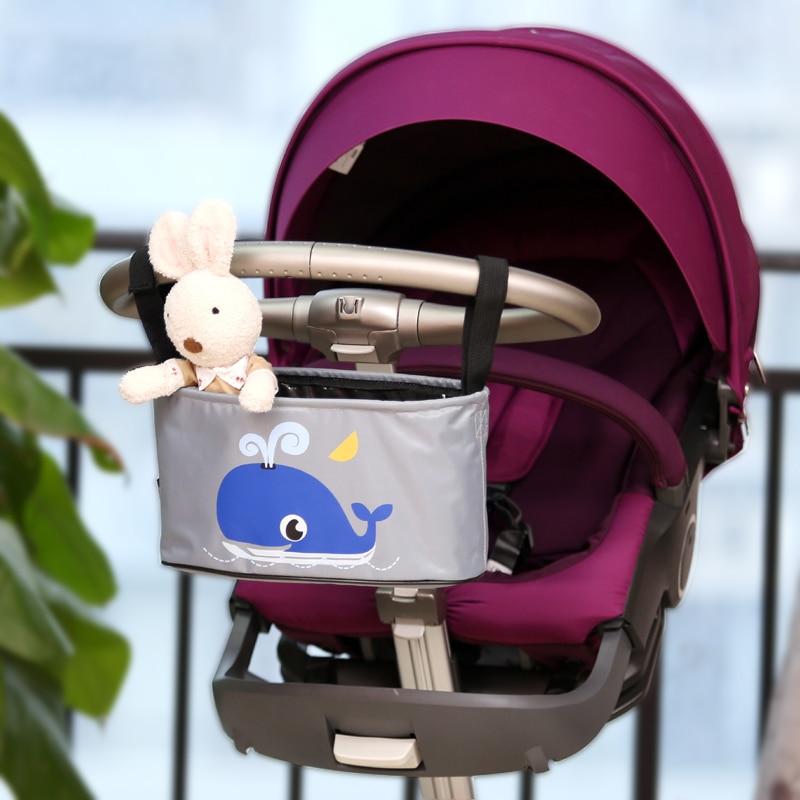 Opknoping mand kinderwagen organizer dier opbergtas wandelwagen - Activiteit en uitrusting voor kinderen - Foto 3