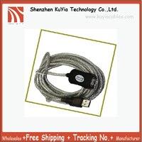 Envío Libre 5 M Activo/Amplificados USB Cable de Extensión Macho-Hembra (Compatible con alta y baja-speed USB v1.1)