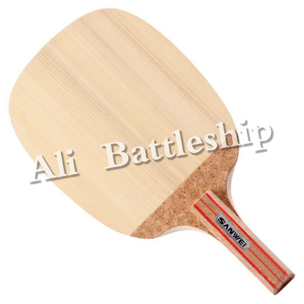 все цены на Original Sanwei R2 R-2 R 2 HINOKI Table Tennis Blade Japanese penhold for PingPong Racket JS онлайн
