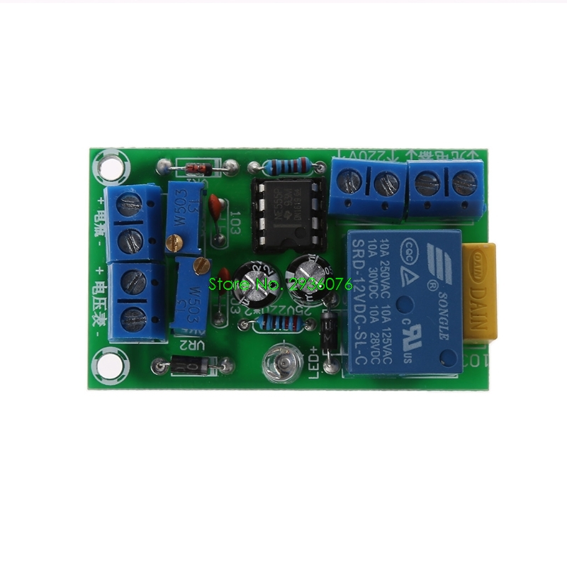 12V Battery Automatic Charging Controller Module Protection Board Relay Board Module Anti-Transposition Smart Charger