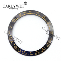 Wholesale High Quality Ceramic Black With Gold Writing Watch Bezel For 116500 116520