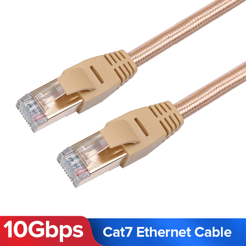 Braid High Speed Cat 7 RJ45 Ethernet Lan Network 10Gbps Patch Cable SSTP PC