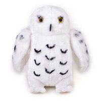 30 cm Asistente Snowy Owl Animales Muñecas Juguetes de Peluche Blanco Hedwig Craetive ala Búho de Peluche de Juguete Para Niños de Regalo de Navidad Para niños