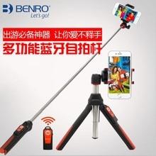 BENRO MK10 4 в 1 Выдвижной Bluetooth Remote палка для селфи монопод мини-штатив телефон подставка держатель для iPhone Android