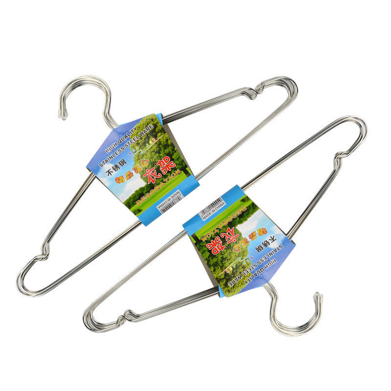 (10 pcs/lot) Hangers Cothes Horse Stainless Steel Waterproof Durable Children Hanging Drying Rack Cloth Hanger