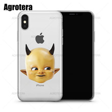 Agrotera Phone Cases Post Malone Posty Fest Baby Clear TPU Case Cover for iPhone 6 6s 7 8 Plus X XS Max XR