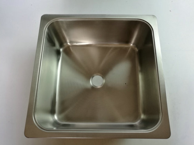 RV Caravan Camper Boat SS Square Hand Wash Basin Kitchen Sink 340 ...