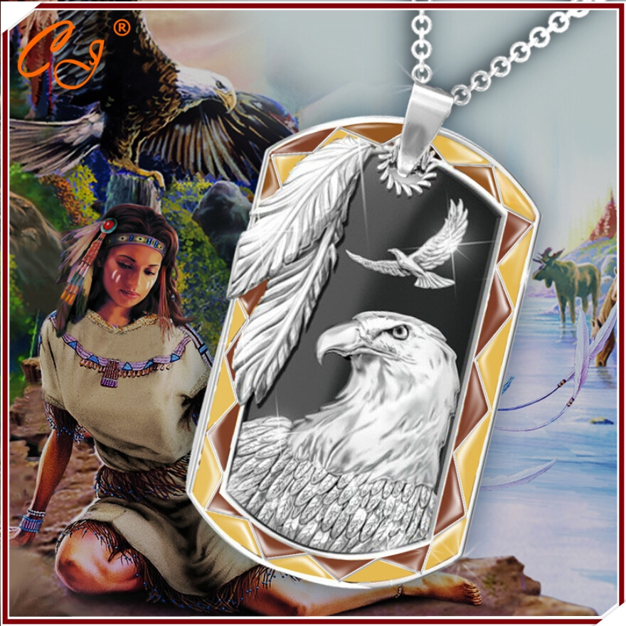 Supernatural Hot new!!!!!Indian necklace The head personality Fashion style silver pendant jewelry for men and women wholesale