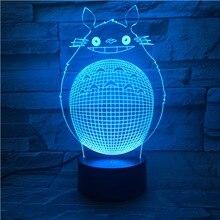 Cute Child Led Night Lamp My Neighbor Totoro Nightlight for Kids Bedroom Decorative Light Birthday Gift