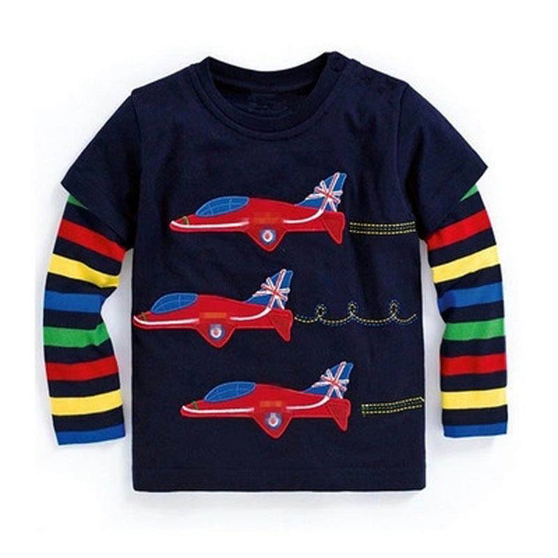 Jumpingbaby 2019 Αγόρια T-Shirt Μωρό Ρούχα - Παιδικά ενδύματα - Φωτογραφία 3