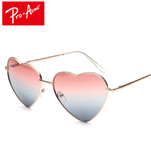 Pro Acme Summer Style Heart Shaped Sunglasses Women Vintage Shades Glasses Gradient Sun glasses for Women oculos de sol CC0261