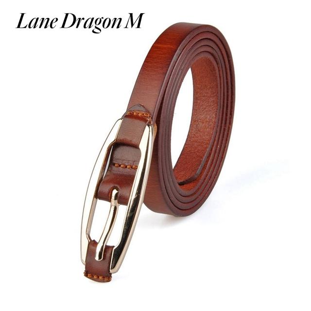[Carril Del Dragón M] nuevo de Alta Calidad Genuina Cinturones de Hebilla de Cinturón de Cuero Para Las Mujeres Señoras de Lujo de la Correa de La Vendimia Diseñadores Marca LCL0001