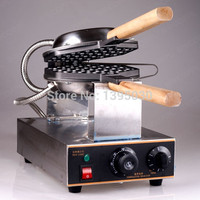 Popular Electric Egg Waffle Machine Stainless Steel Hong Kong Egg Waffle Grill Commercial Waffle Maker