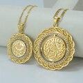ДВА РАЗМЕРА/Турки Ожерелье Арабских Монет для Женщин Позолоченные Турция Монеты Ювелирные Изделия Оптом, Турок Монеты ожерелья #009212