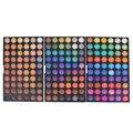 Pro 180 completa cores eyeshadow palette maquiagem top qualidade shimmer matte eyeshadow pigmento da cor da sombra do olho terra maquiagem nude