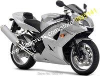 Hot Sales,For Triumph 600 650 Daytona ABS Parts 2003 2005 Daytona650 Daytona600 03 05 All Gray Bodywork Motorycycle Fairing Kit