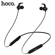 HOCO auriculares inalámbricos con Bluetooth, dispositivo deportivo de graves, resistente al agua, estéreo, con micrófono, para iPhone Xs, Xiaomi 8