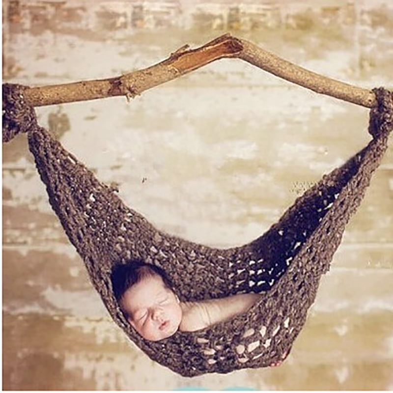 crochet baby hammock newborn bed for children safety shopping cart childrens detachable hammock portable outdoor ultralight ...